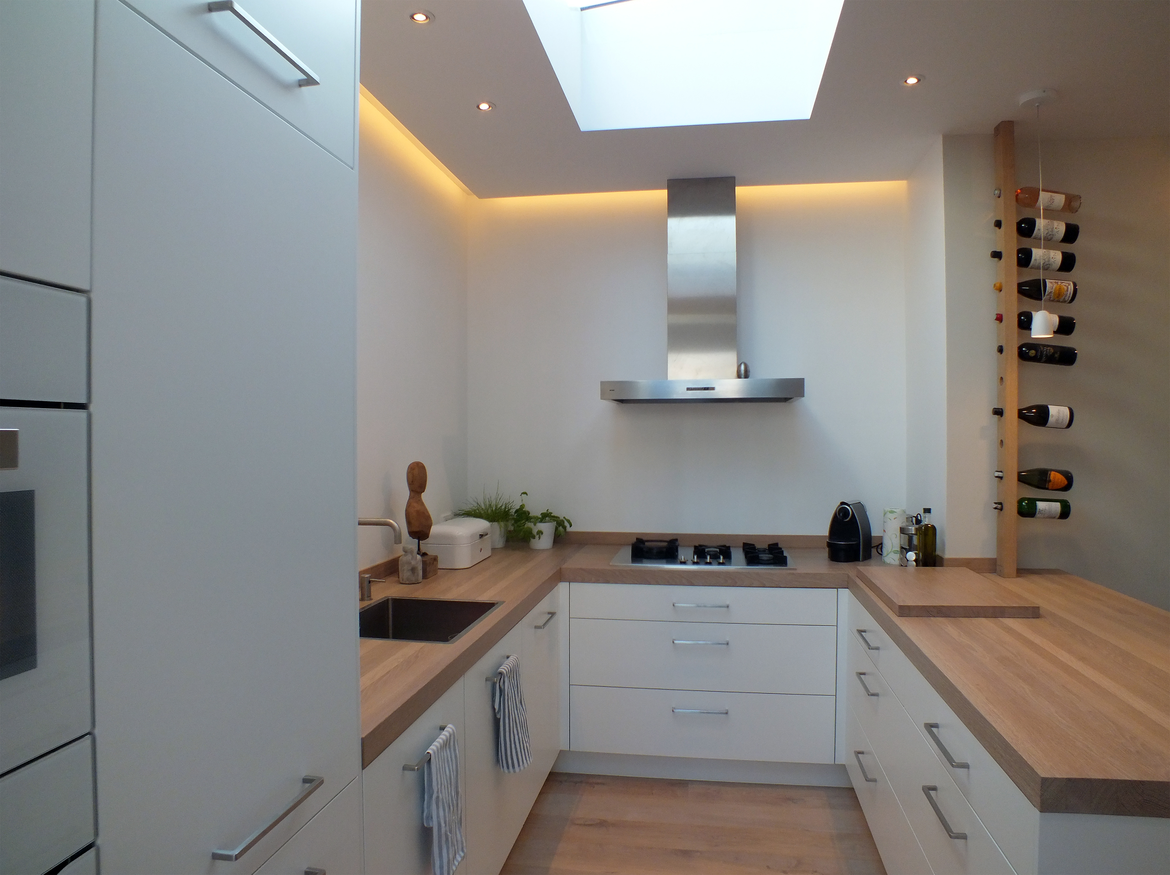 Lichtplan keuken daklicht strijklicht design by meyn - Keuken desing ...