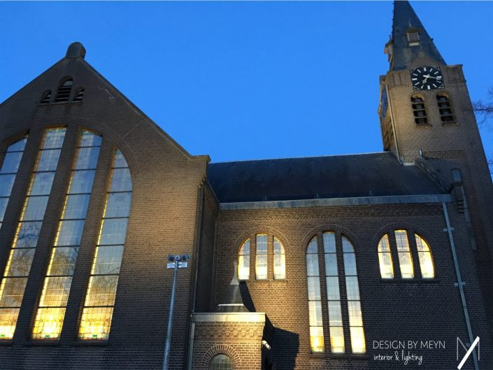 Church square and facade